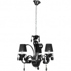 Lámpara de Techo ADELAIDE 3xE14 Al.Reg.xD.50cm Negro