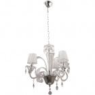 Lámpara de Techo ADELAIDE 3xE14 Al.Reg.xD.50cm Transparente