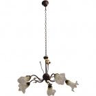Ceiling Lamp PARMA 5xG9 H.Reg.xD.62cm Brown