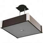 Candeeiro de tecto MARILENE quadrado 2xE27 C.32xL.32xAlt.Reg.cm Wengue