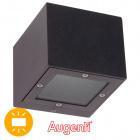 Aplique GINEVRA IP65 1x8,5W LED 3000K L.9,5xAn.11xAl.8,2cm Antracita