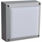 Aplique TENNESSEE IP54 24x0,18W LED 4000K L.14,5xAn.6,5xAl.14,5cm Aluminio + Policarbonato (PC) Gris