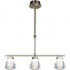 Ceiling Lamp CLARISSA 3x5W LED 1200lm 4000K L.46,5xW.8,5xH.Reg.cm Antique Brass