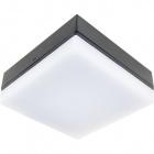 Aplique AZIBO IP54 1x4,2W LED 323lm 4000K L.14xAn.14xAl.6cm Aluminio+Plástico Antracita