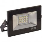 Proyector TOBOL IP65 1x10W LED 500lm 6500K 120°L.11xAn.2,2xAl.7,5cm Negro
