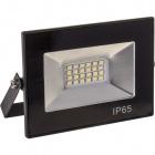 Proyector TOBOL IP65 1x20W LED 1000lm 6500K 120°L.11,5xAn.3xAl.8,5cm Negro