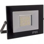 Proyector TOBOL IP65 1x50W LED 2500lm 3000K 120°L.19xAn.3,2xAl.13,7cm Negro