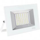 Proyector TARIN IP65 1x50W LED 2500lm 3000K 120°L.19xAn.3,2xAl.13,7cm Blanco