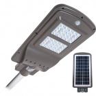 Aplique Solar STREET con sensor IP65 1x40W LED 1100lm 6000K L.23xAn.50xAl.7cm Gris