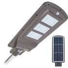 Aplique Solar STREET con sensor IP65 1x60W LED 1500lm 6000K L.25xAn.62,5xAl.7cm Gris