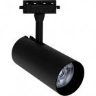 Track Spotlights ADONIS 1x35W LED 2200lm 6400K 24° L.8xW.8xH.24cm Aluminium Black