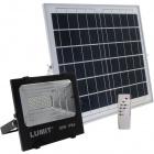 Proyector Solar JUNOT IP66 1x30W LED 600lm 6500K L.33,5xAn.11xAl.29cm Negro (2cx)