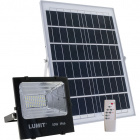 Proyector Solar JUNOT IP66 1x50W LED 1050lm 6500K L.24xAn.8xAl.21cm Negro (2cx)