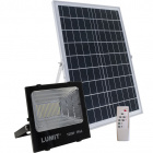Proyector Solar JUNOT IP66 1x100W LED 1300lm 6500K L.28,5xAn.9xAl.25cm Negro (2cx)