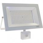 Proyector KOLYMA con sensor IP44 1x100W LED 5000lm 6500K 120°L.28xAn.7xAl.25cm Blanco