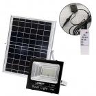 Proyector Solar NAVARRE IP65 1x30W LED 1200lm 6500K L.21,5xAn.6,8xAl.19cm Negro