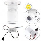 Orientable Spotlight MELVIN round 1W LED 70lm 3000K H.4xD.3cm White