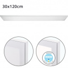 Surface Mounted Panel VOLTAIRE 30x120 72W LED 5760lm 4000K 120° W.120xW.30xH.2,3cm White