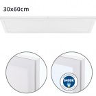 Surface Mounted Panel VOLTAIRE 30x60 36W LED 2880lm 6400K 120° W.60xW.30xH.2,3cm White