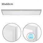 Surface Mounted Panel VOLTAIRE 30x60 36W LED 2880lm 4000K 120° W.60xW.30xH.2,3cm Nickel