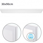 Surface Mounted Panel VOLTAIRE 30x90 72W LED 5760lm 4000K 120° W.90xW.30xH.2,3cm White