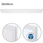 Surface Mounted Panel VOLTAIRE 30x90 72W LED 5760lm 6400K 120° W.90xW.30xH.2,3cm White