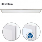Surface Mounted Panel VOLTAIRE 30x90 72W LED 5760lm 6400K 120° W.90xW.30xH.2,3cm Nickel