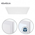Surface Mounted Panel VOLTAIRE 40x40 36W LED 2880lm 6400K 120° W.40xW.40xH.2,3cm White