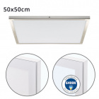 Surface Mounted Panel VOLTAIRE 50x50 48W LED 3840lm 6400K 120° W.50xW.50xH.2,3cm Nickel