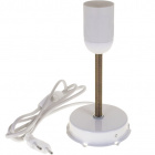 Base for Table Lamp CANARIA 1xE27 H.18xD.9cm White
