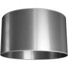 Lampshade MONTENEGRINO round large M10 (lira) H.30xD.50cm Silver