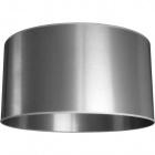 Lampshade MONTENEGRINO round large M10 (lira) H.30xD.57cm Silver