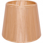 Lampshade AUSTRALIANO round & conic with clamp H.10xD.12cm Gold