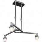 Armazón para Lámpara de Techo DUBAI 3xE14 Al.Reg.xD.46cm Cromo