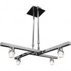 Armazón para Lámpara de Techo SYDNEY 4xE14 L.60xAn.60xAl.Reg.cm Cromo