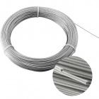 Cabo aço revestido 1,2mm 12 fios (1,6mm) /m (CRD4)