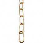 Cadeado de 4mm latão bruto    (CA2)