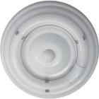 Plafond CIRCE round 1xG10q T9 circ. H.9xD.28cm White