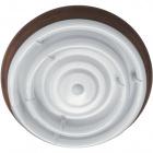 Plafond CIRCE round 1xG10q T9 circ.+1x40WG10q (T9 circ.) H.9xD.46cm Brown/Walnut
