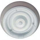 Plafond CIRCE round 1xG10q T9 circ. H.9xD.36cm White
