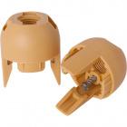 Capa E14 com parafuso dourada  013238