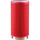 Candeeiro de mesa PLANETÁRIO 1xE14 Alt.29xD.14cm Vermelho/Níquel