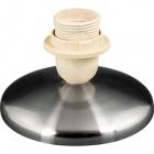 Base para candeeiro de mesa MANILA 1xE27 Alt.9xD.13,5cm Níquel