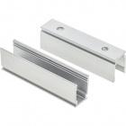 Clip p/fita LED flex. 230V 6W/m