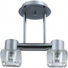 Ceiling Lamp LORENA 2xG9 L.29,5xW.15xH.29cm Grey/Chrome