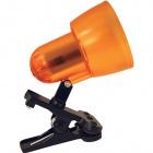 Table Lamp CLIP POP with spring 1xE14 L.8xW.14xH.15cm Orange