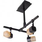 Lámpara de Techo AFONSO 3xG9 L.29xAn.31xAl.33cm Wengue