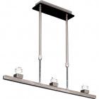 Armazón para Lámpara de Techo CRISTINNE 3xE14 L.65xAl.Reg.Niquel