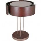 Candeeiro de mesa SIMON 3xE27 Alt.49xD.38cm Wengue