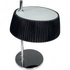 Candeeiro de mesa ASTRID 1xE14 C.25xL.25xAlt.35cm Preto/Cromado